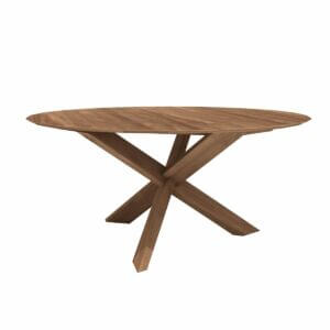 Circle dining table - Teak