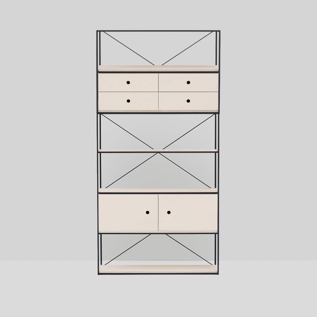 Metal Frame Rack - 3X