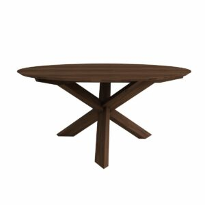 Circle dining table - Walnut