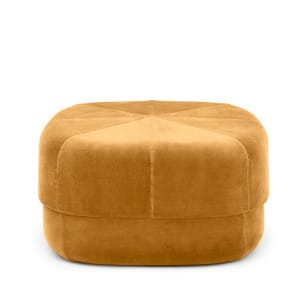 Circus Pouf - Yellow