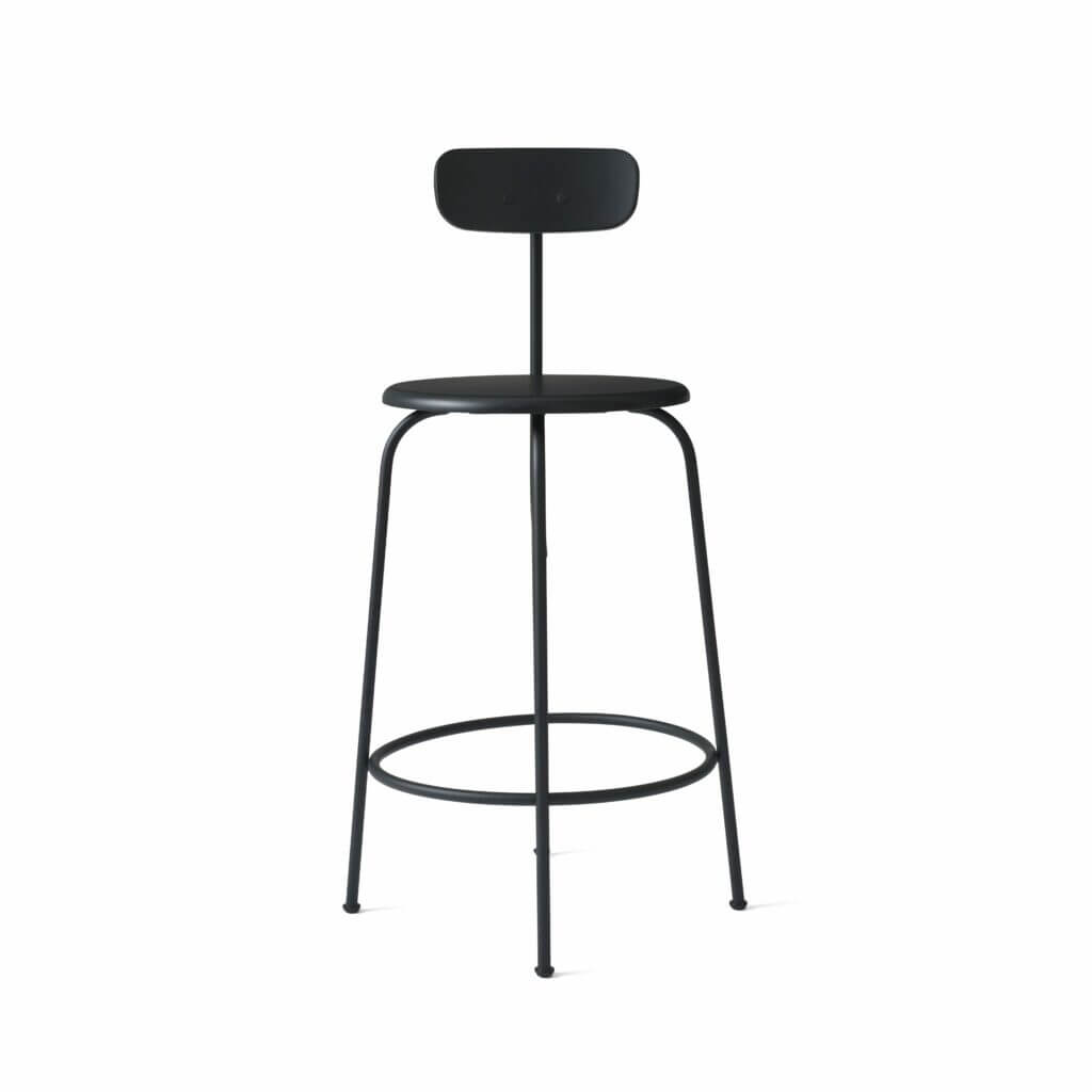 Afteroom Counter Chair - Black