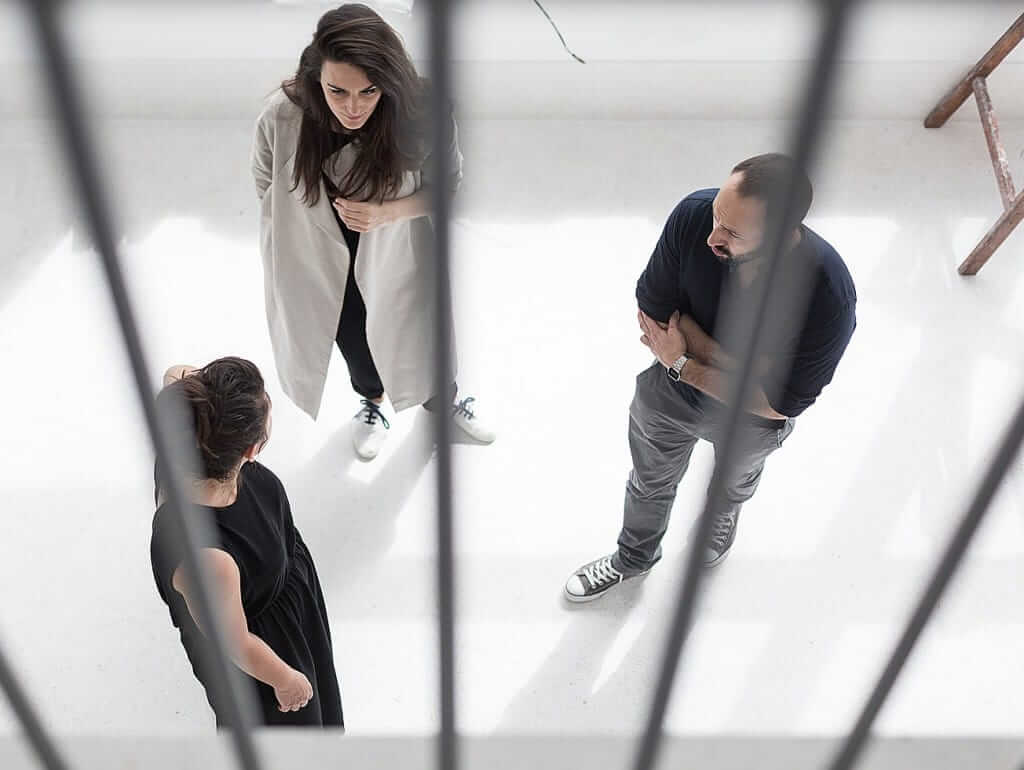 Studio Autori in GIR Store. Dijana Novaković, Maja Trbović i Dušan Nenadović