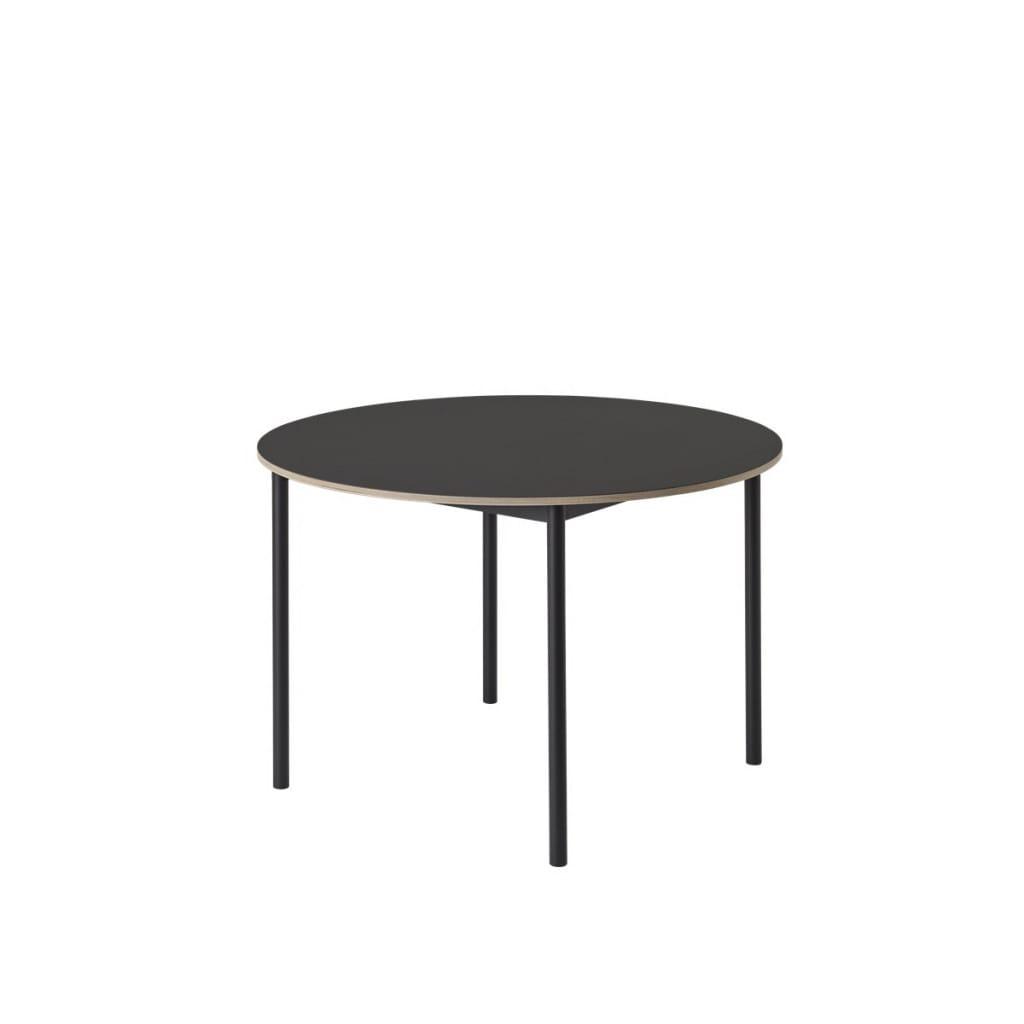 Base Round Table - Black