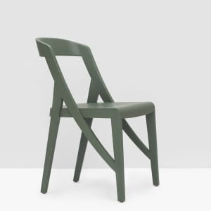 Wood-lock Chair - Olive