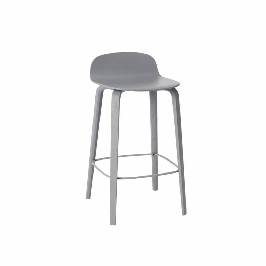 Visu Bar stool - Grey