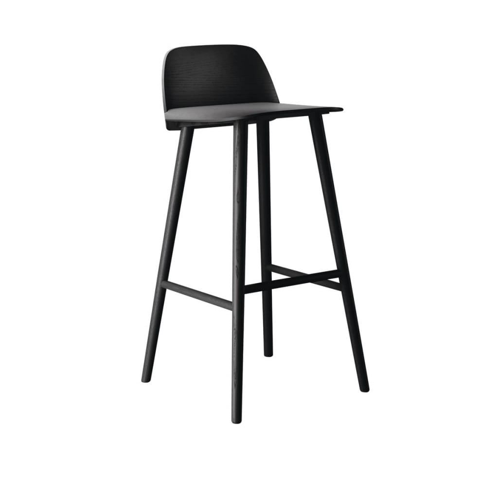 Nerd bar stool - Black