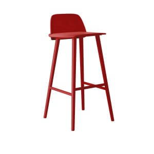 Nerd bar stool - Red