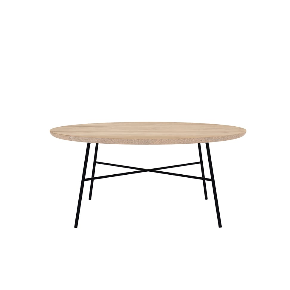 Disc coffee table - round